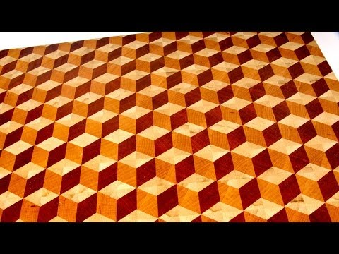 making a 3d end grain cutting board 2 youtube. Black Bedroom Furniture Sets. Home Design Ideas
