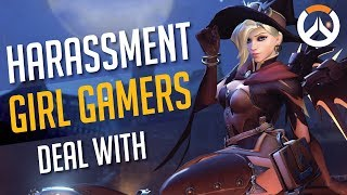 Toxic Overwatch Harassment (I as a Girl Gamer) Deal With
