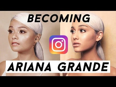 SINGAPOREAN GIRL RECREATES ARIANA GRANDE'S INSTAGRAM