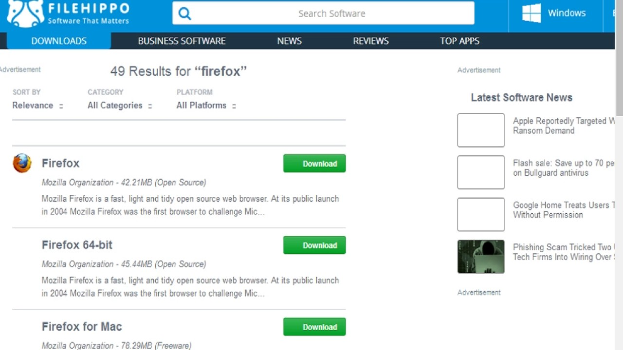 How to Download firefox browser full exe file