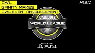Gfinity Announces Call of Duty World League Event.