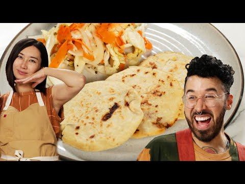 Can This Chef Follow A Pupusas Recipe In A Different Language?  Tasty
