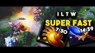 WTF!!! TOP 2 Invoker[iltw] Dota 2 Rank#15 Divine[5] vs SF Rank#35 Divine[5] - Easy Mid Easy Game