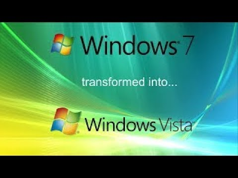 Windows 7'yi Windows Vista'ya Çevirme Part 1
