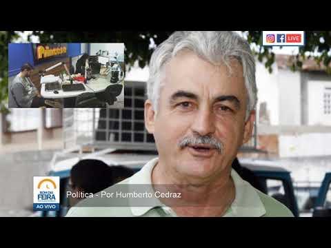 Comentário de Humberto Cedraz - 04 de agosto