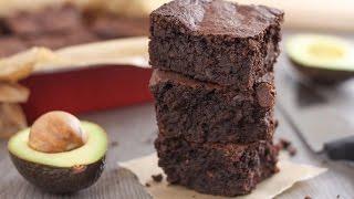 Amazing fudge avocado brownies!