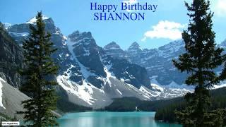 Shannon  Nature & Naturaleza - Happy Birthday