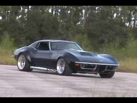 72 Corvette With Supercharged Ls6 And Sidepipes Drive By