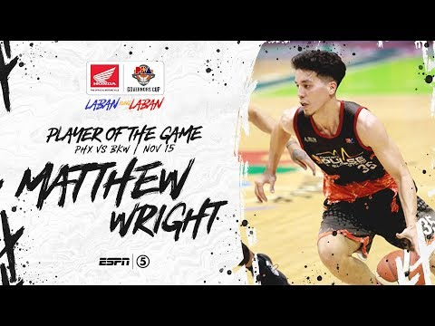 Best Player: Matthew Wright | PBA Governors' Cup 2019