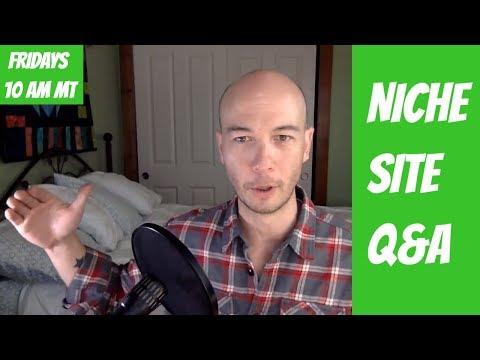 Niche Websites, Amazon Affiliate Sites, Digital Nomad, plus Q&A - LIVE with Doug Cunnington