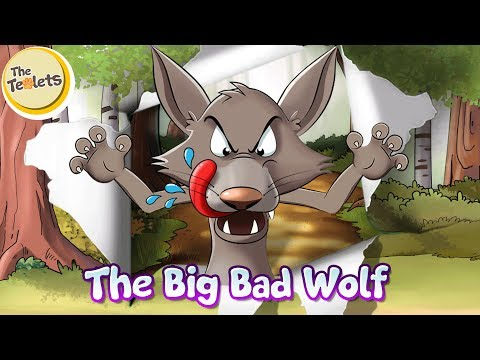 The Big Bad Wolf Musical Story I 3 Little Pigs I Little Red Riding Hood I Fairy Tales I The Teolets