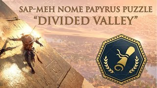 Assassin s Creed: Origins - Papyrus Puzzle Divided Valley | Sap-Meh Nome