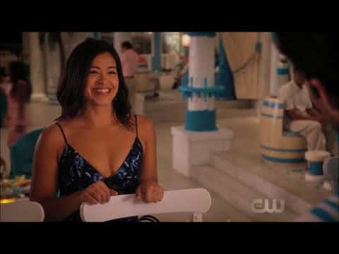 Jane the virgin - Jane went to see Rafael working before going to her party