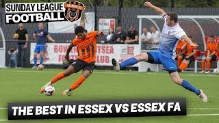 Sunday League Football - THE BEST IN ESSEX VS ESSEX FA
