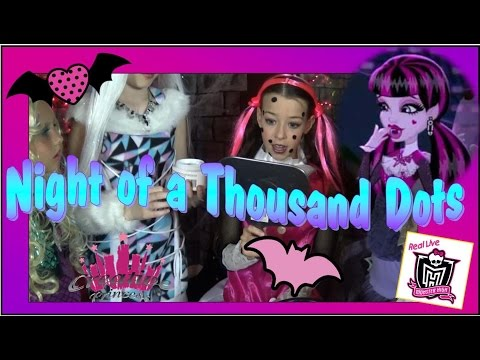 New Real Live Monster High | 'Night of a Thousand Dots' Creative Princess