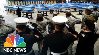 Fallen U.S. Soldiers Finally Return From North Korea | NBC News