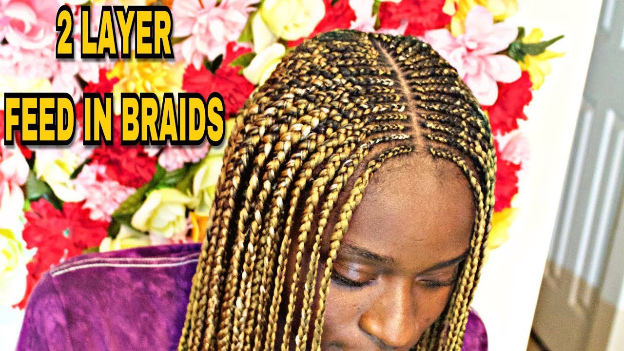 49+ 1 Layer Feed In Braids, Top Ideas!