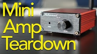 Mini Audio Amp Teardown and Mod!