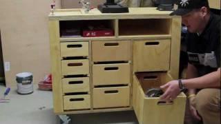 Craftsman Drill Press Workstation: Part 1