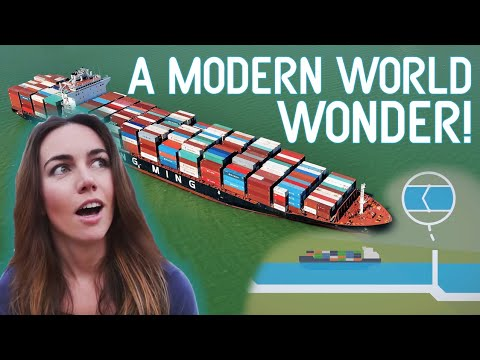 The Extraordinary Engineering of the Panama Canal!