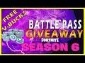 Fortnite Free Battle Pass Season 6 - PS4/XBOX ONE