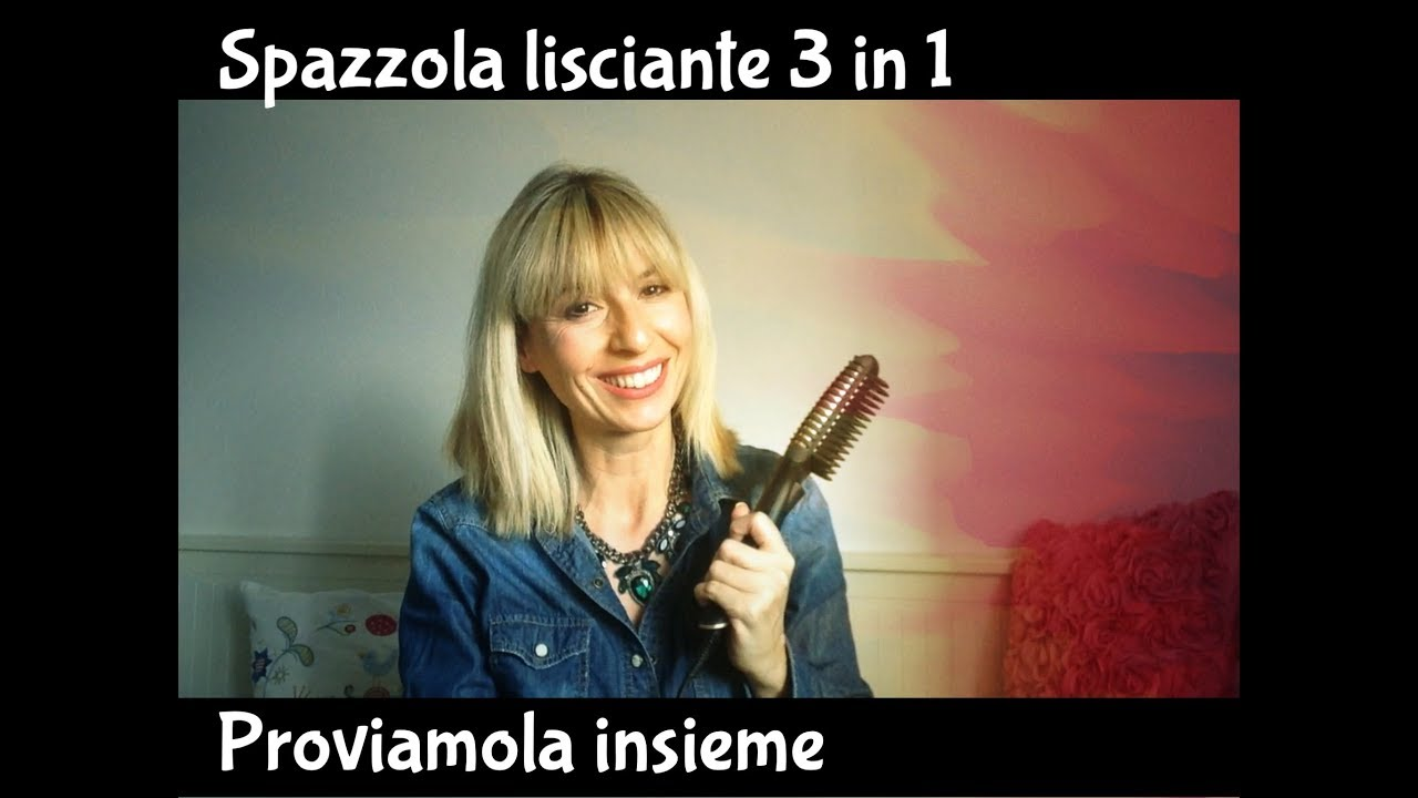 Spazzola Lisciante 3 In 1 Lidl Proviamola Insieme Youtube