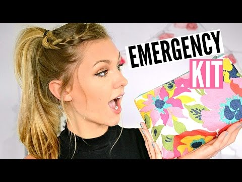 Back To School Emergency Kit (for Girls)