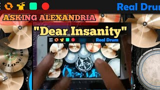 Asking Alexandria Dear Insanity   Real Drum Cover