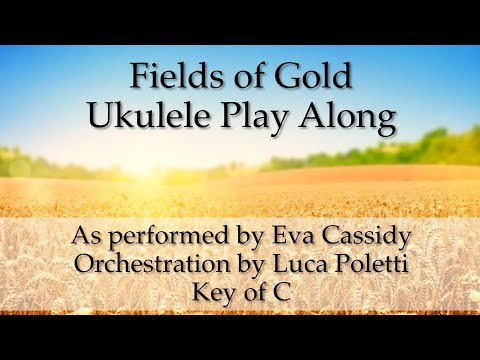 Chords for Fields of Gold (Eva Cassidy adapted by Poletti