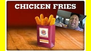 Burger King® Chicken Fries Review!!