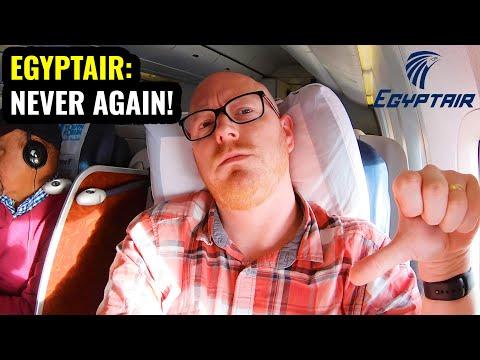My AWFUL Flight On EGYPTAIR! Business Class