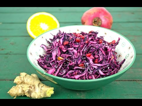 Würziger Rotkohlsalat | So lecker schmeckt gesund