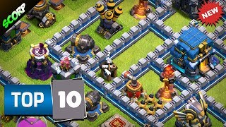 TOP 10 TH12 Trophy Bases 2019 | Best CoC TH12