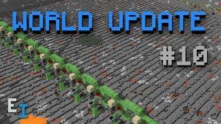 World Update #10 - Dual Witch Farm Perimeter & Storage System Design Progress