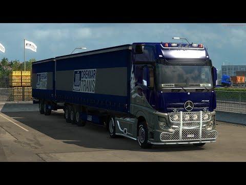 Euro Truck Simulator 2- Ocolul Scandinaviei in 2664 de Km