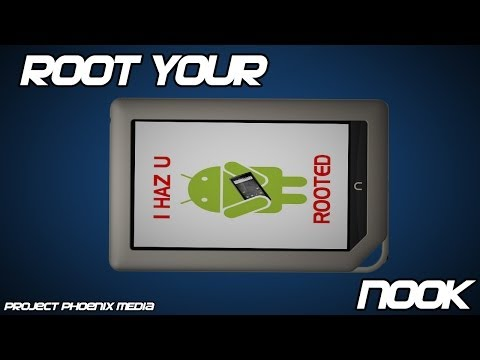 How To Root The Nook Tablet Firmware In Minutes Or Less Tutorial Not Nook Color