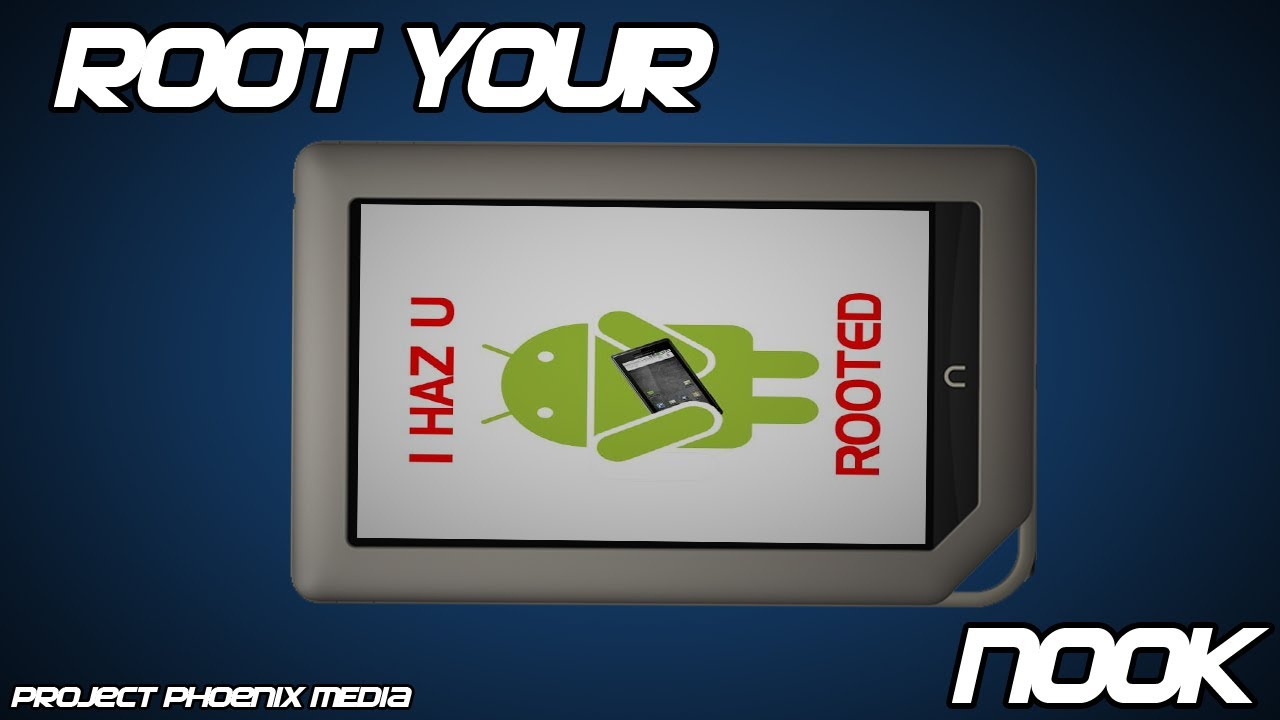 How To Root The Nook Tablet firmware 143 In 10 Minutes or