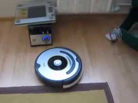 iRobot Roomba 630 first cleaning