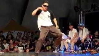 POPPING STUDENT SIDE 7 to Smoke | 2014 FUNKZILLA GAME WORLD FINAL