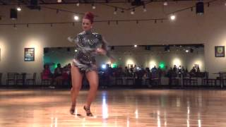 Jorjet Alcocer's Pachanga Performance at the Columbus Salsa Weekend, July 2015