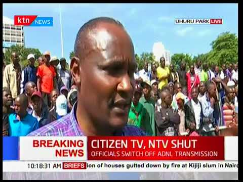 KTN News Live Stream (Nairobi Kenya) - RAILA ODINGA SWEARING-IN