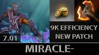 Miracle- Anti-Mage Fast Farm ► 9K Efficiency New Patch ► Dota 2 [7.01]