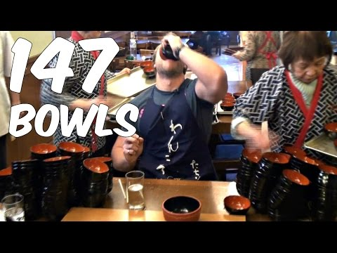 147 Bowls of Noodles in 5 Minutes!