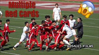 Soccer Game Gets Out of Control - Hoover vs Central High School Boys Soccer