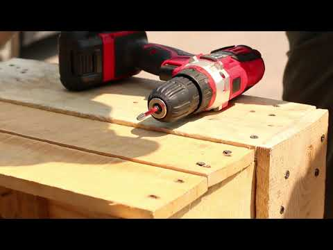 DIY Pallet Wood Project How to make a Flower Pot MUST WATCH