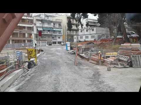 Formwork metro Thessaloniki