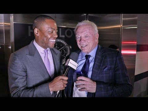 (Cowboys Owner) JERRY JONES REACTION! Errol Spence vs Mikey Garcia
