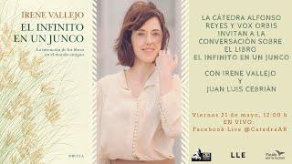 IRENE VALLEJO (Incompleto En Vivo). Conversación sobre el libro El infinito en un junco