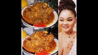 How to cook banga soup| Edo, delta banga soup recipe