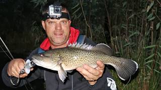 Relaxing afternoon Murray cod fishing and mushrooming